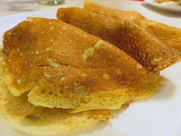 Chanterelle Filled Crepes Recipe