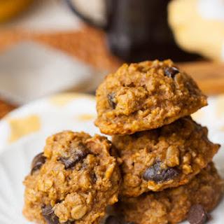Peanut Butter-Banana Oatmeal-Chip Cookies