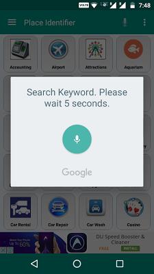 Place Identifier - screenshot