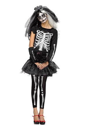 Skelettklänning, teen