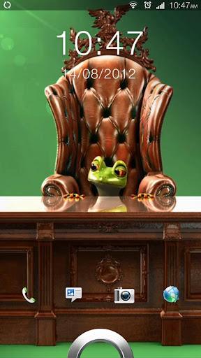 Business Frog Live Wallpaper