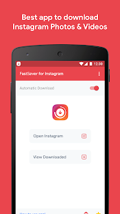 Downloader for Instagram Photo & Video - FastSaver on Windows PC