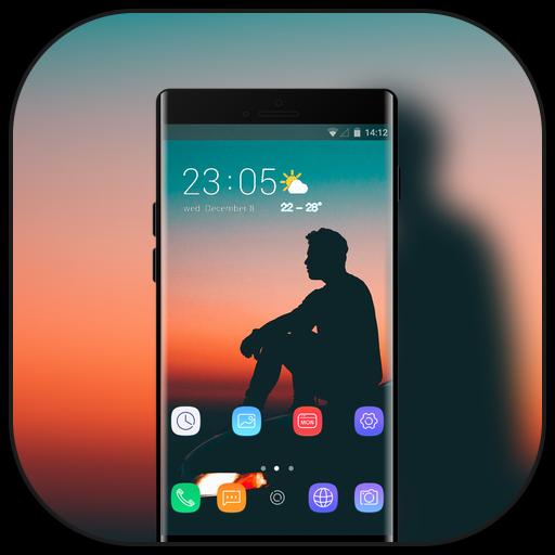 Theme for htc desire626G plus Dual SIM dusk icon