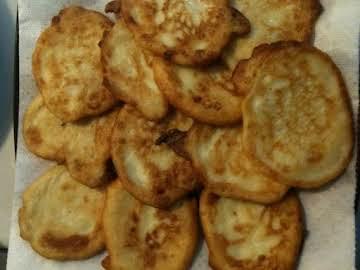 Mama's traditional tater pancakes