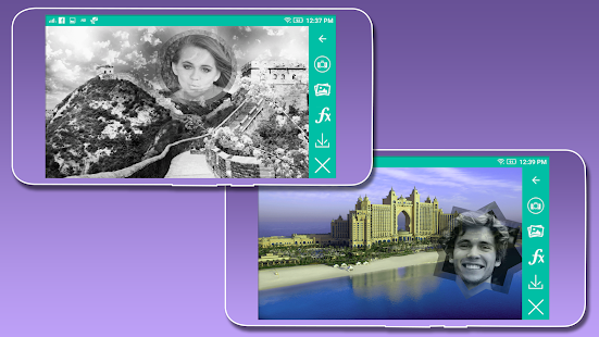 Famous 3D Places Photo Frame - náhled