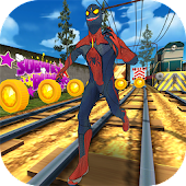 Spider Subway Surf