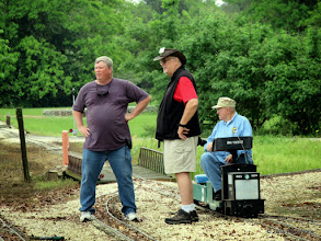 Photo: Rich Businger, Bill Smith, and Bill Howe    HALS Public Run Day 2015-0418 RPW