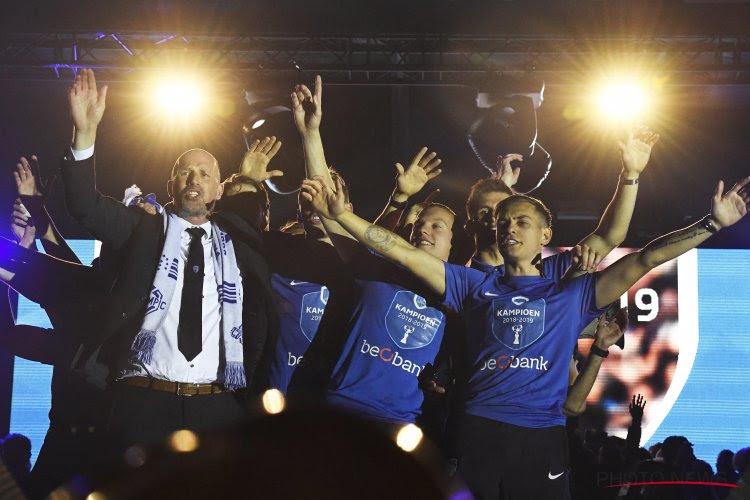 Le Racing Genk réagit officiellement au chant homophobe lancé par Leandro Trossard
