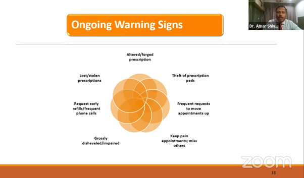 ongoing warning signs