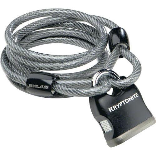 Kryptonite Flex Cable 818 6' x 8mm with Key Padlock