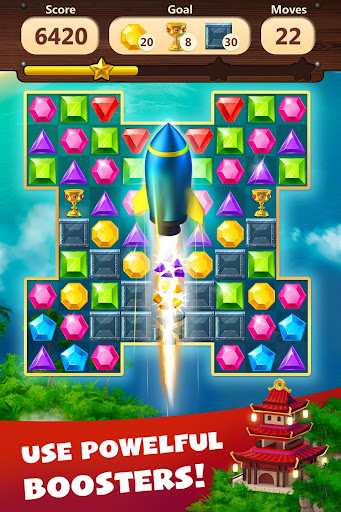 Jewels Planet - Free Match 3 & Puzzle Game screenshots 4