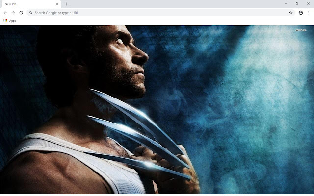 X Men Wolverine Wallpapers and New Tab
