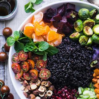 Winter Black Rice Salad.