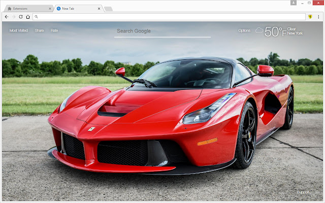 Sport Wallpaper Google: Ferrari Sports Cars Wallpaper HD Themes