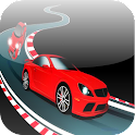 Cars Racing - highway traffic icon