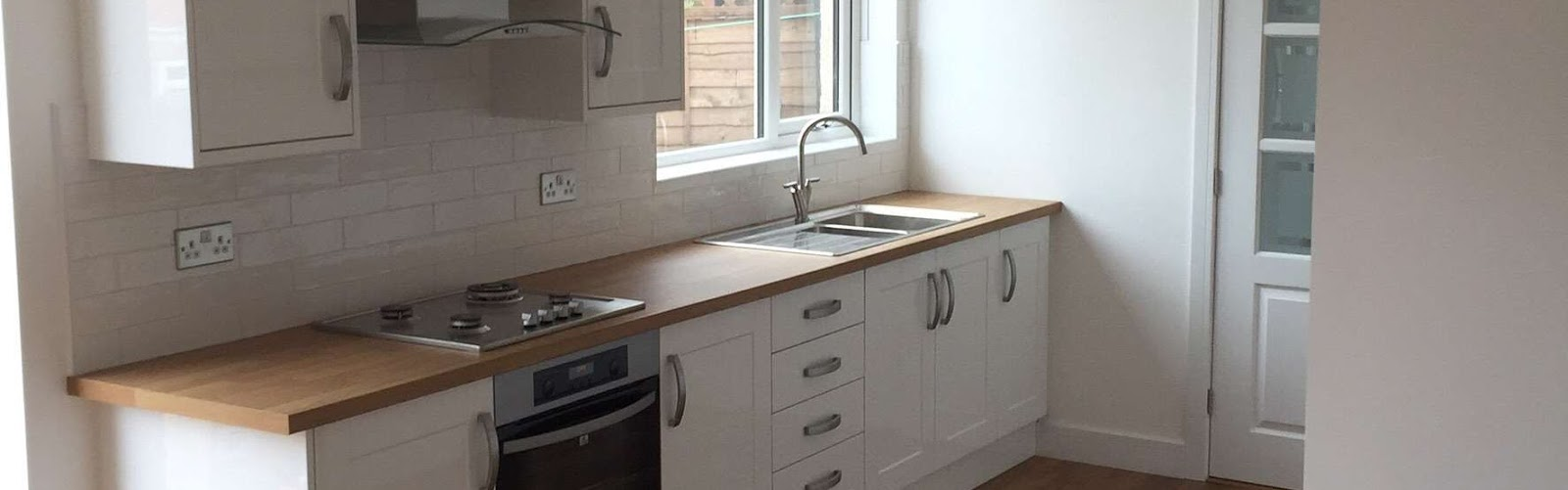 Kitchen Sink, Stove and Tiling