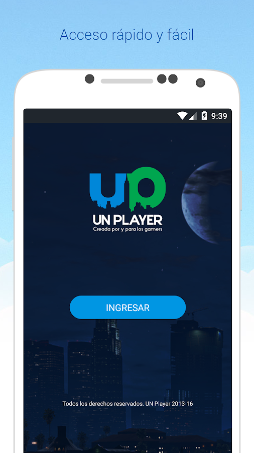 UN Player- screenshot