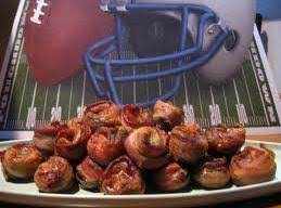 Game Day Bacon Mushroom Appetizers Recipe