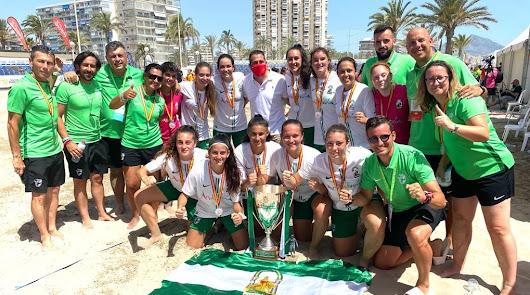 Andalucía, campeona de España de Fútbol Playa