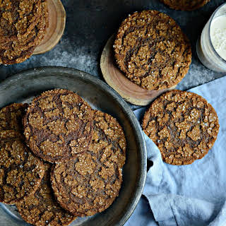 Brown Sugar Molasses Cookies.