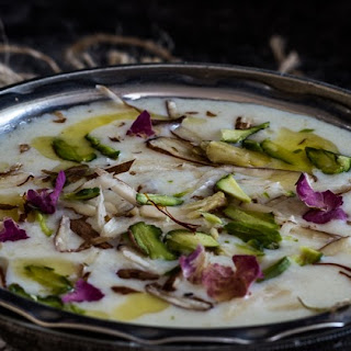 Garvanu - Guarati Semolina Kheer ( Pudding )