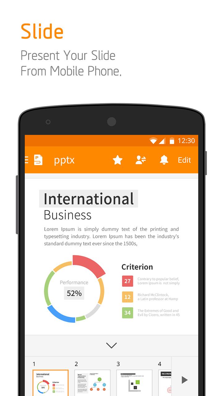 Polaris Office + PDF screenshot #4