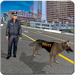 Dog Chase Games : Police Crime Icon