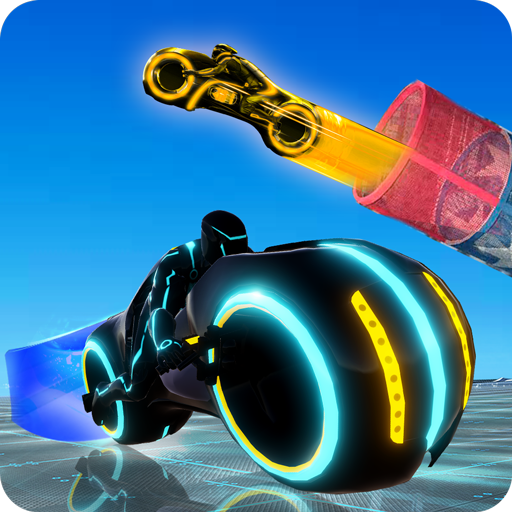 Tron Bike Stunt Racing 3d Stunt Bike Racing Games 3
