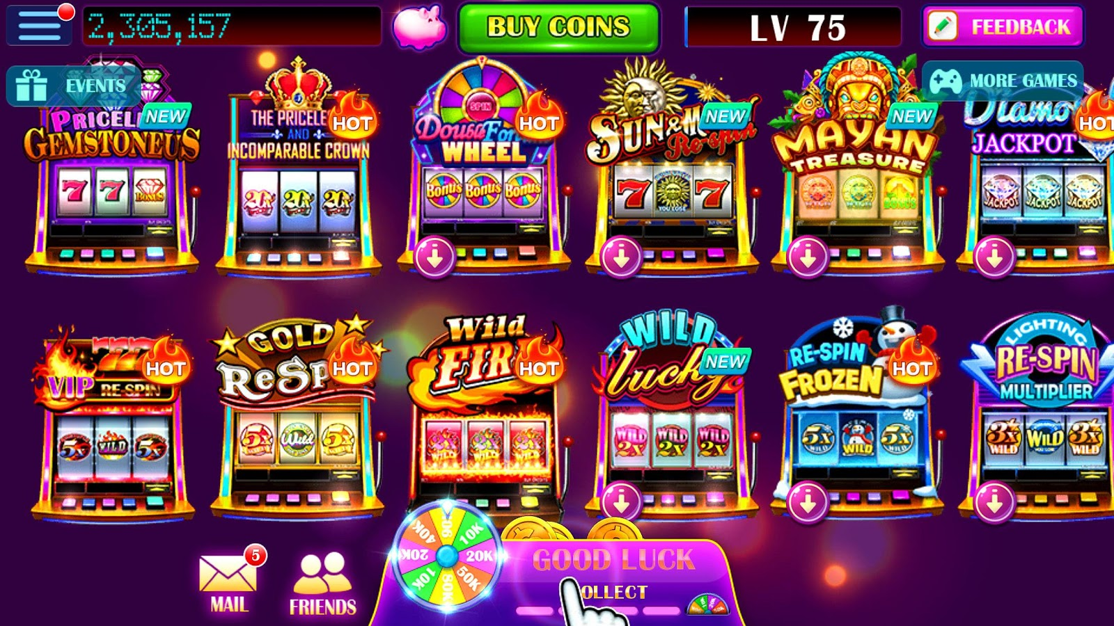 Wild Clover Slot Machine - Play for Free & Win for Real