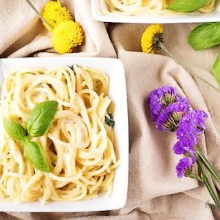 Weeknight Lemon Basil Pasta Recipe