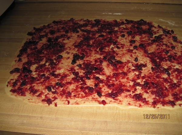 ASSEMBLING: Remove dough from fridge and divide in half. Roll one half into an...