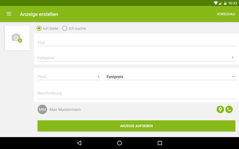 ebay kleinanzeigen android apps auf google play. Black Bedroom Furniture Sets. Home Design Ideas