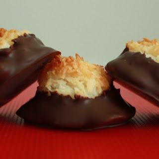 Chocolate Dipped Macaroons Recipes