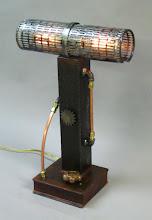 Photo: steampunk dual lamp