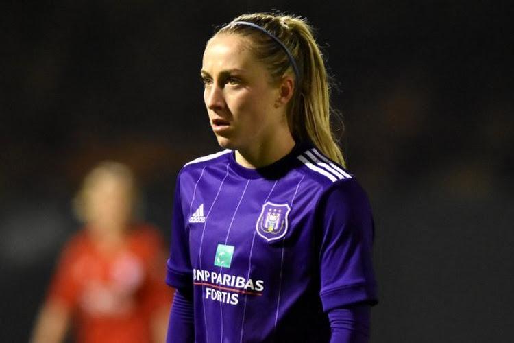 Anderlecht ziet speelster vertrekken naar het buitenland