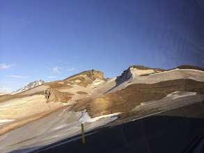 Photo: Rift between continental plates