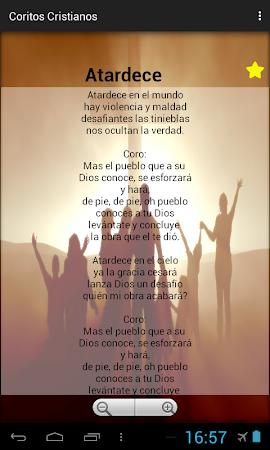 Coritos Cristianos 1.3 screenshot 2088793