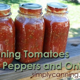Canning Stewed Tomatoes.