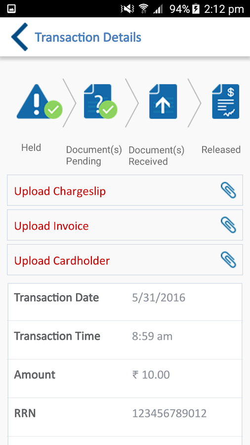 KVB POS- screenshot
