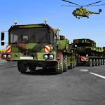 Army Cargo Truck Simulator : Transport cargo Army Icon