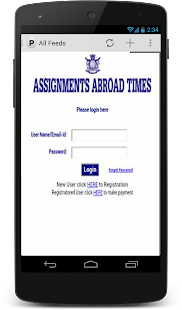 Assignments Abroad Times- screenshot thumbnail