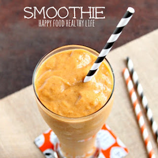 Pumpkin Pie Smoothie.