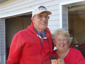 Photo: Raymond and Ginger at Ginger's daughter Angie's house in Eagle Lake for Christmas Dinner