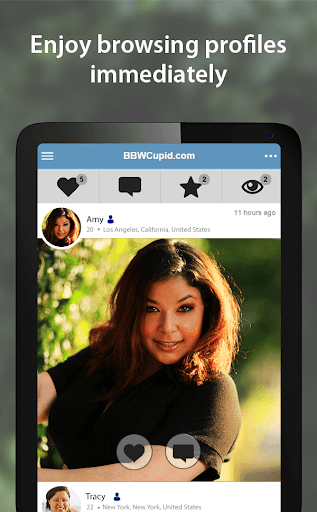 BBWCupid - BBW Dating App 3.1.7.2496 screenshots 10