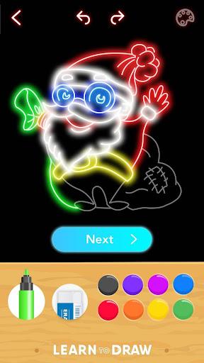 Draw Glow Christmas 2020 screenshots 7