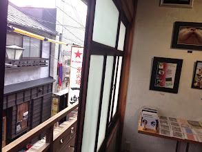 Photo: 窓の外は元林院の懐かしい風景