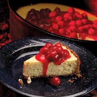 Dutch Oven Cheesecake.