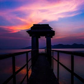Hospet Reservoir by Dharmesh Daula - Buildings & Architecture Public & Historical