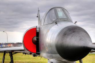 Photo: Francuski myśliwiec Dassault Mirage IIIE