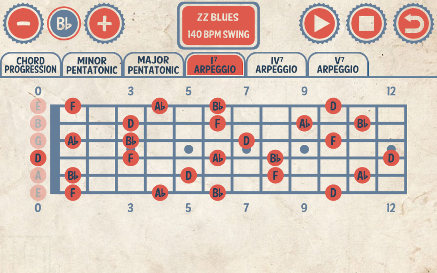 Blues Guitar Jam Tracks- screenshot